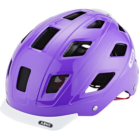 ABUS Hyban Casco, brilliant purple